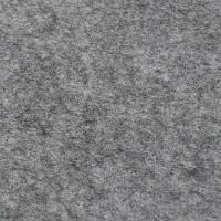 Filz 3 mm, mittelgrau meliert 48x68cm