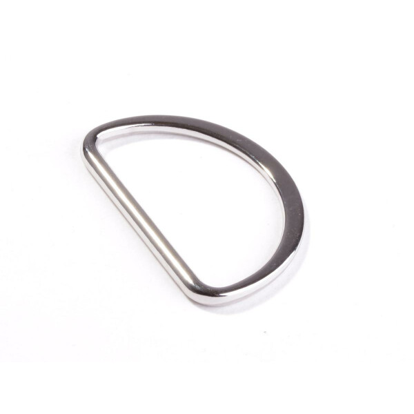 D Ring 40 mm, silber
