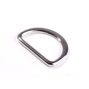 D Ring 25 mm, silber