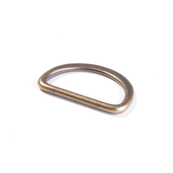 D Ring 25 mm, messing