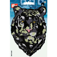 Prym Patch Tigerkopf Camouflage, 15,5 x 10,7 cm