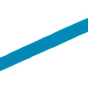 Flachkordel 10 mm, hellblau