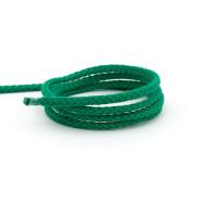 Flechtkordel 4 mm, grün