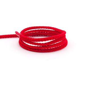 Flechtkordel 4 mm, rot