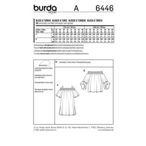 Tunika und Bluse F/S 2018 #6446