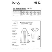 Kleid und Top F/S 2017 #6532