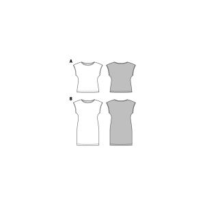 Top und Kleid F/S 2017 #6540