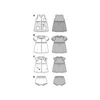 Kleid und Hose F/S 2017 #9357