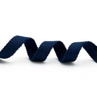 Schnürband Mieder 10mm, dunkelblau