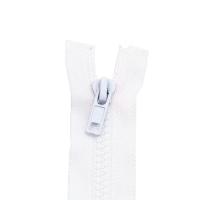 Reißverschluss Kunststoffkrampe 5mm, weiß