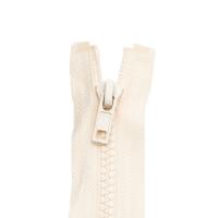 Reißverschluss Kunststoffkrampe 5mm, natur