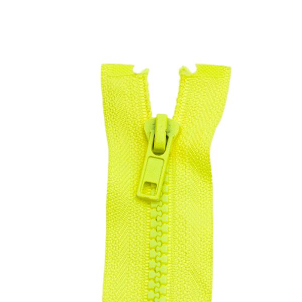 Reißverschluss Kunststoffkrampe 5mm, neon gelb