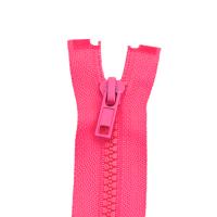 Reißverschluss Kunststoffkrampe 5mm, neon pink