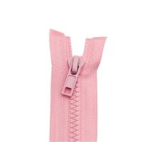 Reißverschluss Kunststoffkrampe 5mm, rosa