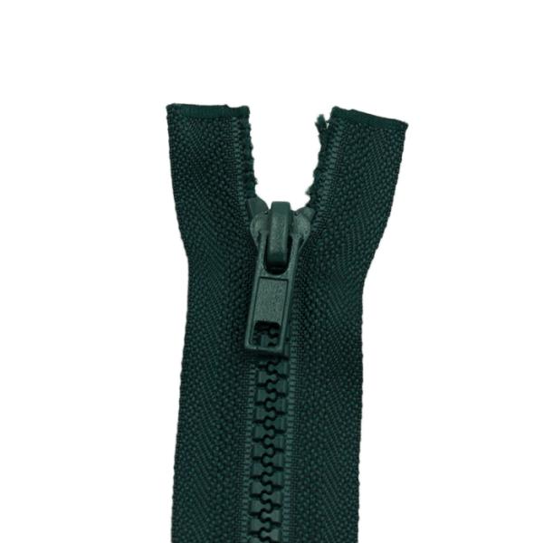 Reißverschluss Kunststoffkrampe 5mm, dunkelgrün