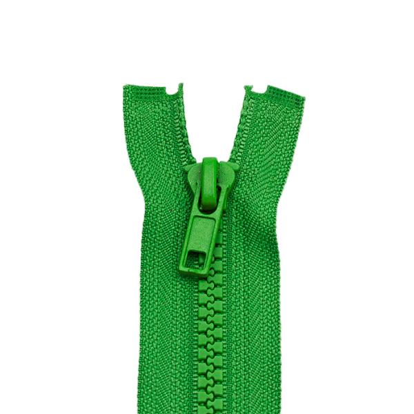 Reißverschluss Kunststoffkrampe 5mm, grün