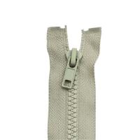 Reißverschluss Kunststoffkrampe 5mm, hellgrau