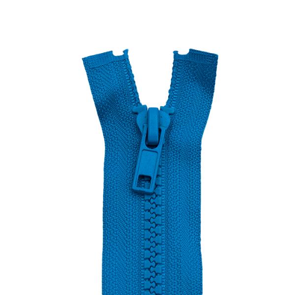 Reißverschluss Kunststoffkrampe 5mm, stahlblau