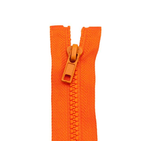 Reißverschluss Kunststoffkrampe 5mm, orange