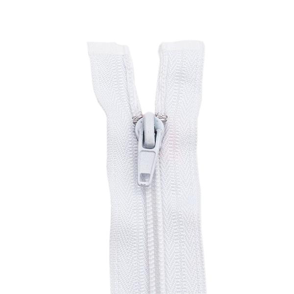 Reißverschluss spiralförmig 5mm, weiß